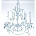 Crystal Blue Chandelier, Nursery Lighting | Kids Floor Lamps | ABaby.com