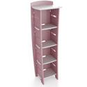 Pastel Fun to Assemble Bookcase, Baby Bookshelf | Kids Book Shelves | ABaby.com