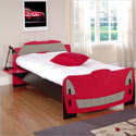 Race Car Twin Bed, Childrens Beds | Girls Twin Bed | ABaby.com