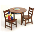 Kids' Round Table and Chair Set