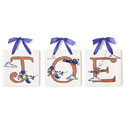 Lil' Aviators Name Tiles, Kids Wall Letters | Custom Wall Letters | Wall Letters For Nursery