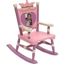 Little Princess Rocking Chair, Princess Themed Nursery | Girls Princess Bedding | ABaby.com