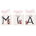 Lil' Princess Name Tiles, Princess Nursery Decor | Princess Wall Decals | ABaby.com