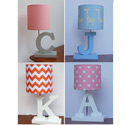 Custom Handmade Letter Lamp, Personalized Nursery Decor | Baby Room Decor | ABaby.com
