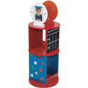 All Star Revolving Bookcase, Sports Themed Nursery | Boys Sports Bedding | ABaby.com