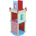 Alphabet Soup Revolving Bookcase, Alphabets Themed Furniture | Baby Furniture | ABaby.com