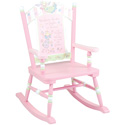 Fairy Wishes Child Rocker, Fairy Themed Furniture | Baby Furniture | ABaby.com
