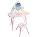 Fairy Wishes Vanity and Stool Set, Kids Vanities | Girls Kids Vanity Set | ABaby.com