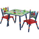 Gettin' Around Table and Chair Set , Train And Cars Themed Furniture | Baby Furniture | ABaby.com