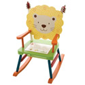 Kid's Jungle Jingle Rocker, Kids Chairs | Personalized Kids Chairs | Comfy | ABaby.com