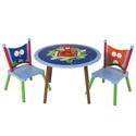 Owls Table and Chair Set, Children Table And Chair Sets | Toddler Table And Chairs | ABaby.com