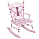 Sugar Plum Child Rocker, Butterfly Themed Toys | Kids Toys | ABaby.com