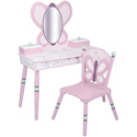 Sugar Plum Vanity and Chair Set, Butterfly Themed Nursery | Butterfly Bedding | ABaby.com