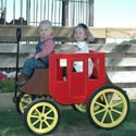 Stagecoach Wagon, Wild West, Western, Cowboy Themed Furniture, Decor For Childrens Rooms and Baby's Nursery.