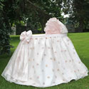 Belle Bassinet, Baby Girl Bassinet Bedding | Baby Girl Bedding Sets | ABaby.com