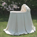 Verona Velvet Bassinet, Neutral Baby Bedding | Gender Neutral Bedding | ABaby.com