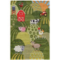 Farm Land Rug, Kids Playroom Area Rugs | Bedroom Rugs | Carpet | aBaby.com