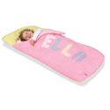 Personalized Pastel Sleeping Bag, Personalized Sleeping Bags | Kids Sleeping Bags | ABaby.com