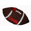 Personalized Football Sleeping Bag, Baby Bedding, Crib Bedding, Toddler Bedding Sets, Children's Bedding, Nursery Crib
