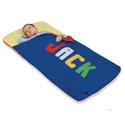 Personalized Primary Sleeping Bag, Baby Bedding, Crib Bedding, Toddler Bedding Sets, Children's Bedding, Nursery Crib