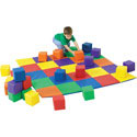 Playing Mat and Matching Blocks, Soft Play Toys | Baby Jogger | Fitness Toys | ABaby.com