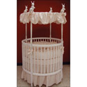Danielle Round Crib Bedding, Bedding For Round Cribs | ABaby.com