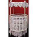 Jacqueline Round Crib Bedding, Bedding For Round Cribs | ABaby.com