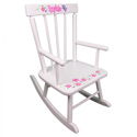 Butterflies & Flowers Personalized Rocker, Butterfly Themed Toys | Kids Toys | ABaby.com