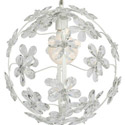 Crystal Flower Sphere Chandelier, Chandeliers for Kids Rooms & Nursery | Mini Chandelier | aBaby.com