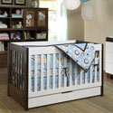 Mercer Convertible Baby Crib, Antique Baby Crib | Cradle | Designer Convertible Cribs | ABaby.com