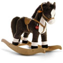 Saddled Rocking Horse , Wild West, Western, Cowboy Themed Furniture, Decor For Childrens Rooms and Baby's Nursery.