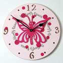 Butterfly Clock, Kids Bedroom Decor | Clocks | Baby Picture Frames | ABaby.com