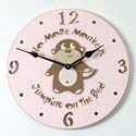 Monkey Clock, Kids Bedroom Decor | Clocks | Baby Picture Frames | ABaby.com