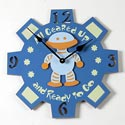 Robot Clock, Kids Bedroom Decor | Clocks | Baby Picture Frames | ABaby.com