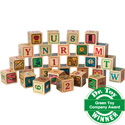 Wooden ABC Blocks, ABC�s Themed Nursery | Alphabet Bedding | ABaby.com