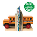 My Little School Bus Bookends, Train And Cars Themed Nursery | Train Bedding | ABaby.com