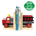 Fire Away Bookend, Train Nursery Decor | Train Wall Decals | ABaby.com
