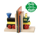 My Train Bookends, Train Nursery Decor | Train Wall Decals | ABaby.com