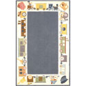 Classic Train Rug, Nursery Rugs | Baby Area Rugs | Baby Room Rugs | ABaby.com