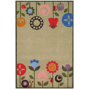 Funky Flowers Rug, Novelty Rugs | Cheap Personalized Area Rugs | ABaby.com