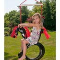 Pony Pal Tire Swing, Kids Swing Set Accessories |Outdoor Swing Sets | ABaby.com