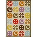 Delightful Disc Rug, Novelty Rugs | Cheap Personalized Area Rugs | ABaby.com