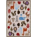 Forest Critters Rug, Kids Playroom Area Rugs | Bedroom Rugs | Carpet | aBaby.com