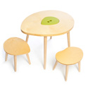 The Owyn Table and Stool Set, Kids Table & Chair Sets | Toddler Tables | Desk | Wooden