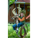 Big Buck Tire Swing, Kids Swing Set Accessories |Outdoor Swing Sets | ABaby.com