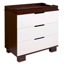 Modo 3 Drawer Dresser/Changer, Baby Changing Table | Changing Tables With Drawers | ABaby.com