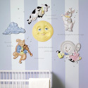 Mother Goose 3D Wall Decor, Nursery Rhymes Themed Nursery | Nursery Rhymes Bedding | ABaby.com