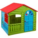 The Happy Garden House, Outdoor Playhouse | Kids Play Houses | Kids Play Tents | ABaby.com