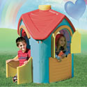 The Triangle Villa, Outdoor Playhouse | Kids Play Houses | Kids Play Tents | ABaby.com