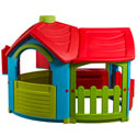 Villa With Extension Room, Outdoor Playhouse | Kids Play Houses | Kids Play Tents | ABaby.com
